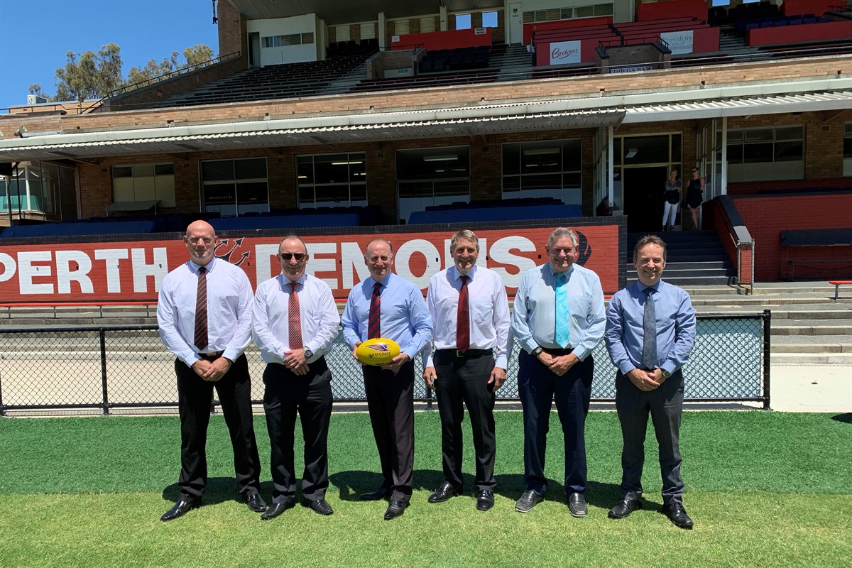 Federal Government commits funding for Perth Football Club