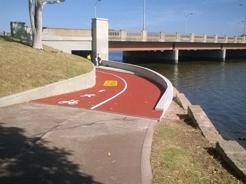 McCallum park bike path